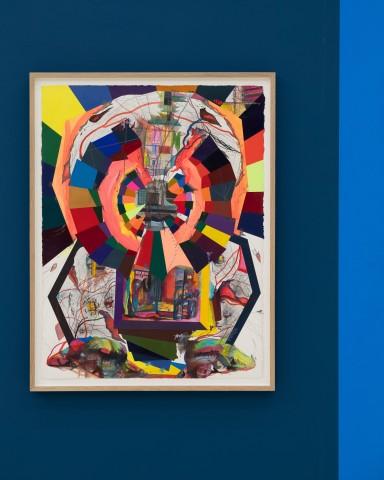 Franz ACKERMANN 艾稞曼  Square Man 广场上的人, 2019
