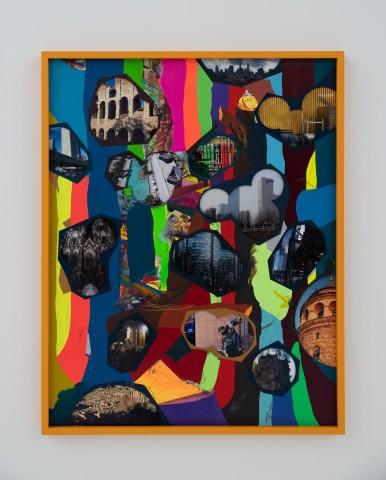 Franz ACKERMANN 艾稞曼  Travelling Through the Woods Ⅱ (Rome/ Istanbul/ New York/ Beijing)  穿越森林 2(罗马/ 伊斯坦布尔/ 纽约/ 北京), 2019