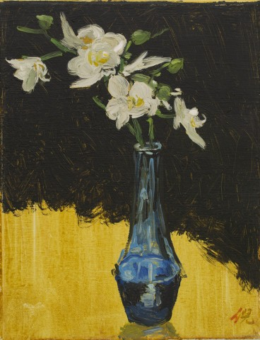 Ni Jun 倪军  Blue Vase 蓝色小瓶, 2012
