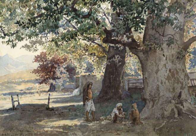 39. Herbert Arnould Olivier R.I. (1861 - 1952), Untitled (View of Kashmir) , 1884