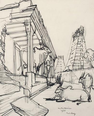 53. André Maire (1898-1984), Pondicherry, 1938