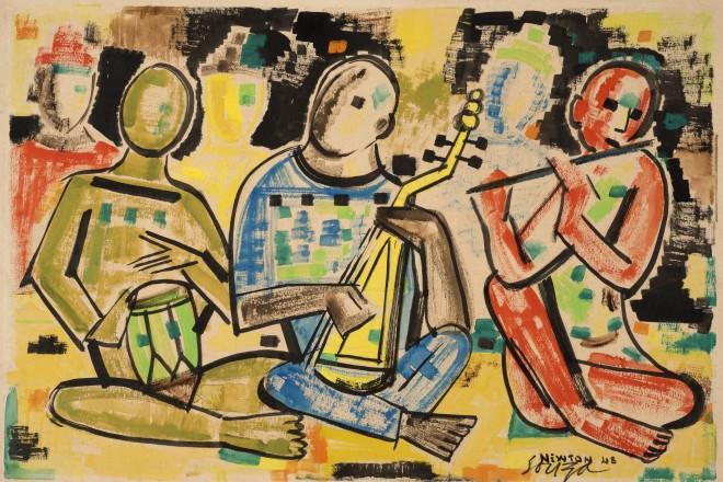 Francis Newton Souza , Musicians , 1948