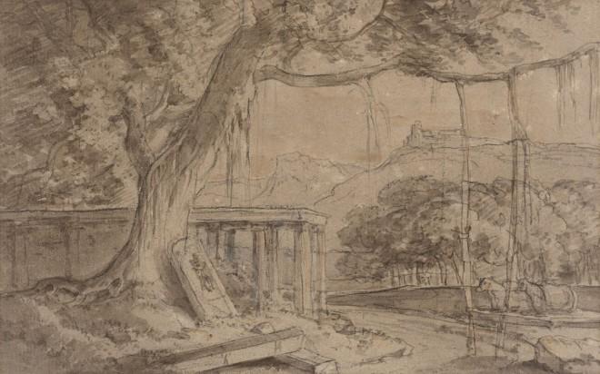 13. William Daniell R. A. (1769 - 1837), A Ruined Temple