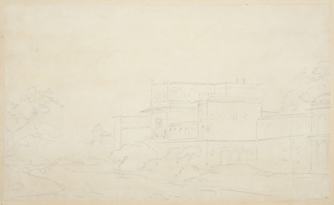 7. Thomas Daniell, R.A. (1749 – 1840) and William Daniell, R.A. (1769 – 1837), View of India, c. 1790