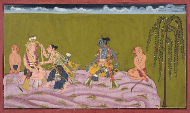The Bestowing of a Garland
