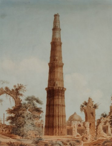 16. Unknown , The Qutb Minar , Early 19th Century