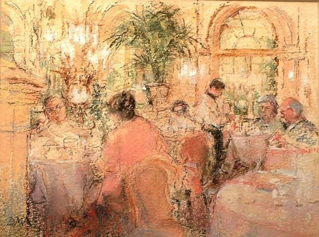 Tea at the Plaza Hotel, New York