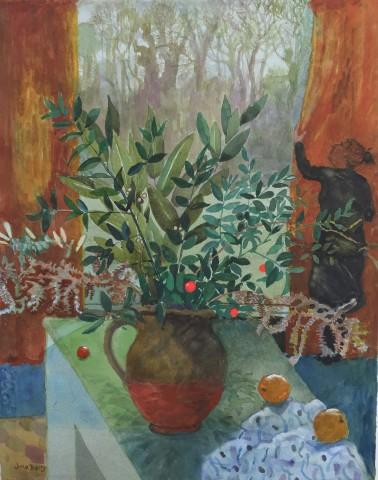 June Berry, December Evening