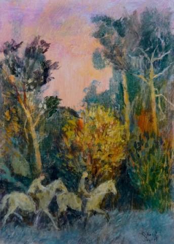 Richard Sorrell, Dawn, Two Horsemen