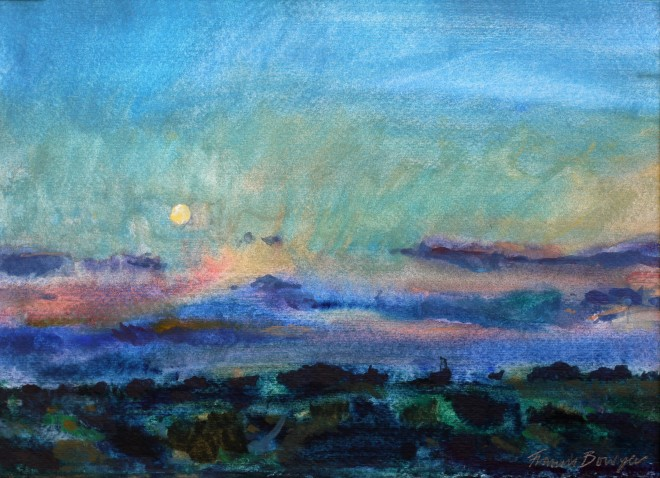 Francis Bowyer, Suffolk Sunset