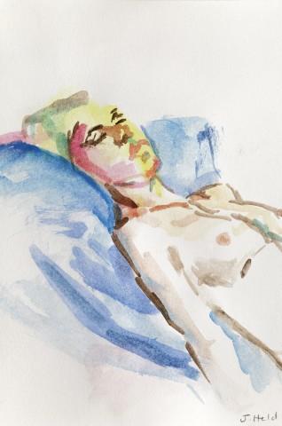 Julie Held, Sleeping Nude