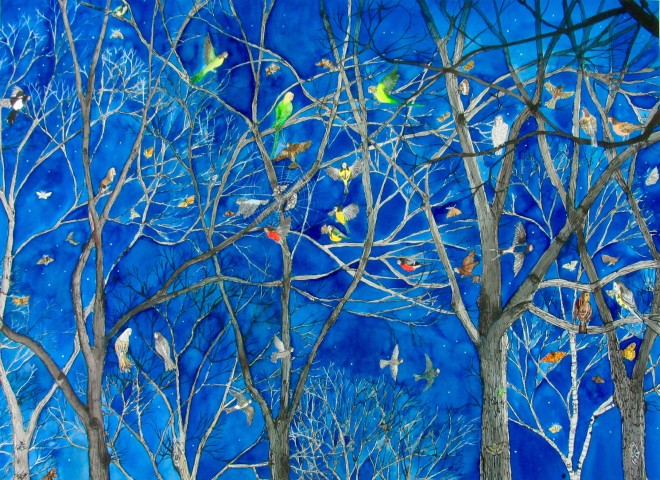 Emma Haworth, Night Birds in the Trees