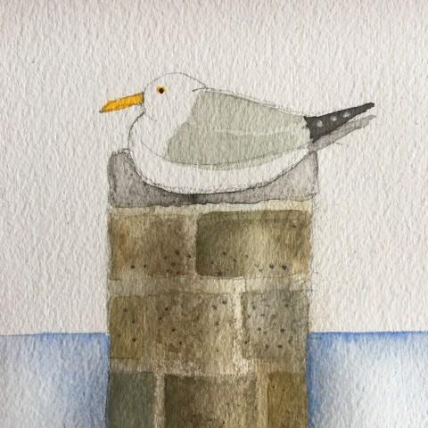 Jill Leman, St Ives Seagull