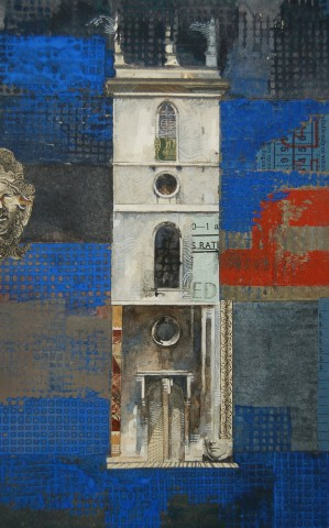 Stuart Robertson, St Mary Somerset Tower Study