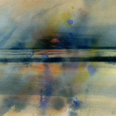 Liz Butler, Sundown on Lake Kariba
