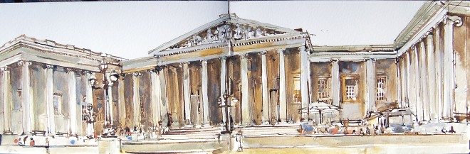 Stuart Robertson, British Museum Study