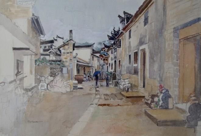 David Paskett, Anhui Rain