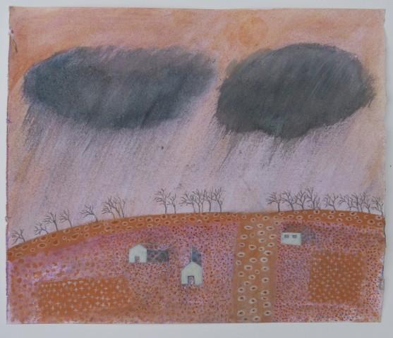 Caroline McAdam Clark, Rain Approaching