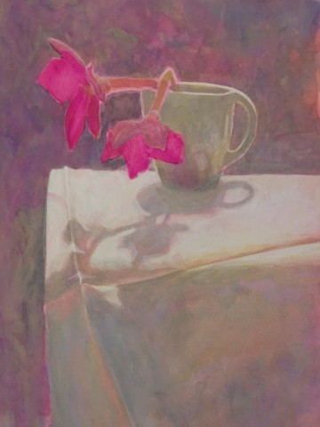 Sarah Holliday, Nicotiana against the light