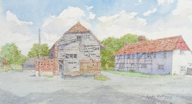 Dennis Roxby Bott, Whipley Manor Barn