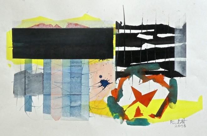 Geoffrey Pimlott, Scratched Black