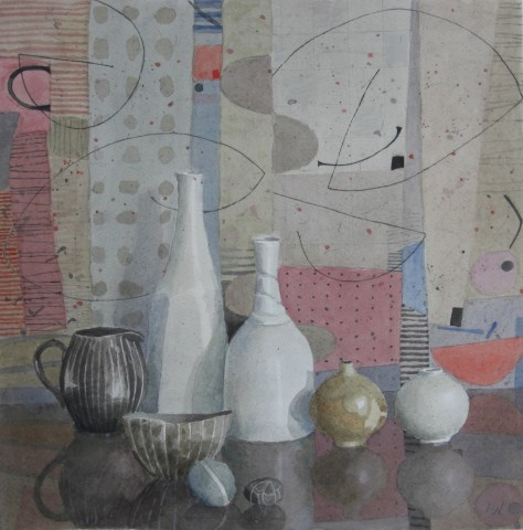 Annie Williams, Still Life with Two Pebbles