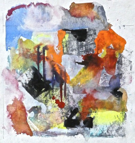 Geoffrey Pimlott, Untitled Red