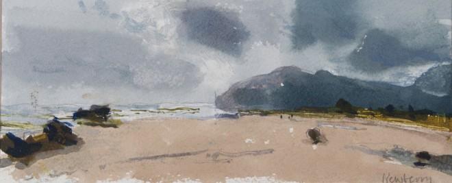 John Newberry, Small Rocks, Playa de Berria, Spain