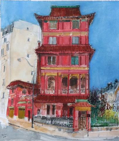 Peter Quinn, Paris Pagoda