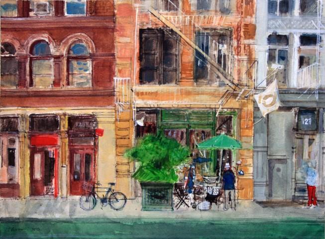Peter Quinn, Street Vendor, Soho, New York