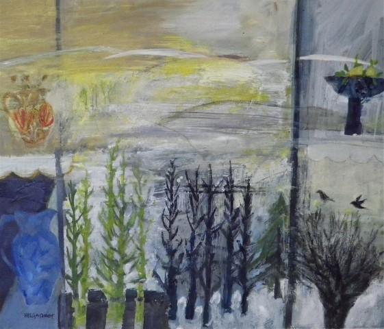 Helga Chart, Winter Pursued by Spring (Moorfoot)
