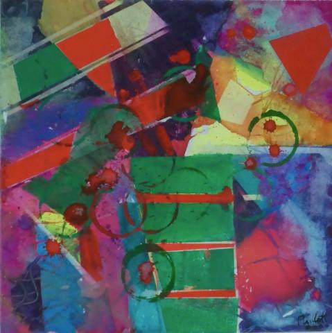 Geoffrey Pimlott, Two Red Splashes