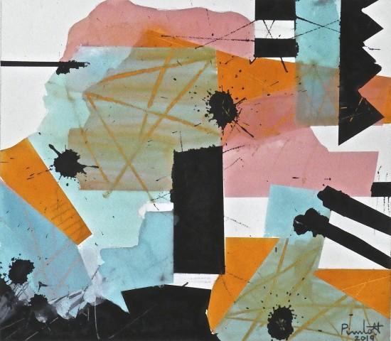 Geoffrey Pimlott, Orange Scratched Black