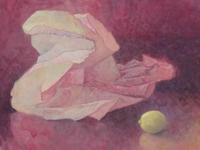 Sarah Holliday, Tissue and Lemon