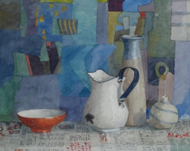 Annie Williams, Still Life with Portuguese Jug