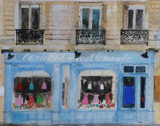 Peter Quinn, Paris, Shop