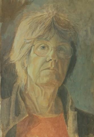 Sarah Holliday, Self Portrait
