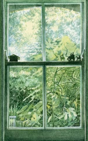 Liz Butler, Kitchen Window