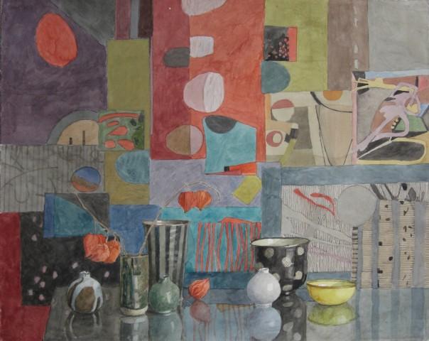 Annie Williams, Colour Collage