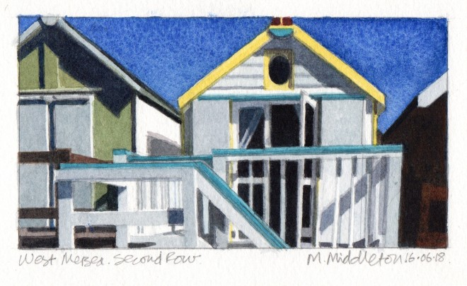 Mike Middleton, West Mersea Second Row