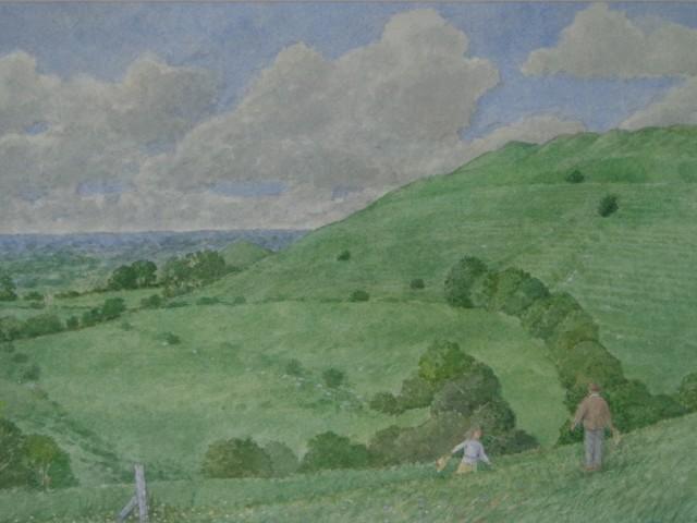 David Payne, Thomas Hardy visits Eggardon