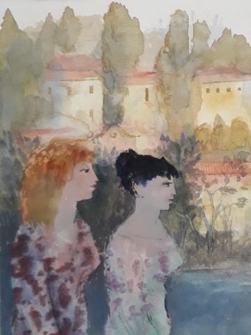 Richard Sorrell, Two Ladies in Verona