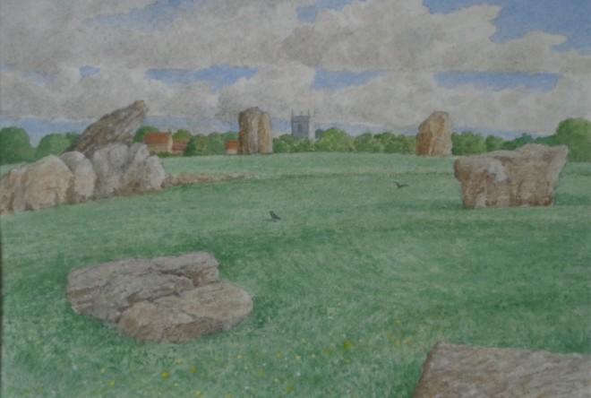 David Payne, Church and Stones, Stanton Drew
