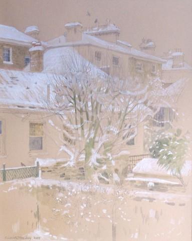 Charlotte Halliday, The Monday Snow, St. John's Wood