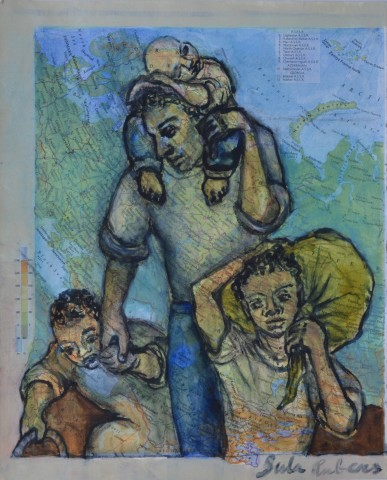 Sula Rubens, Kin Study - Family