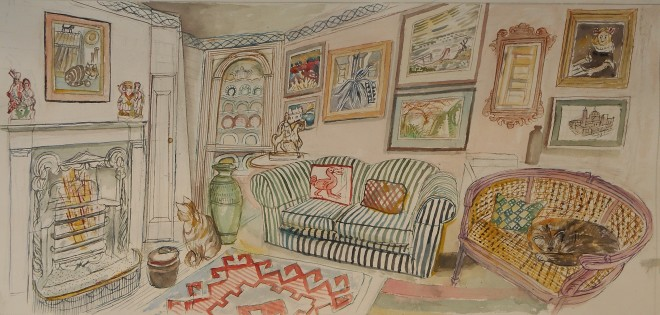 Richard Bawden, Cats And Pictures