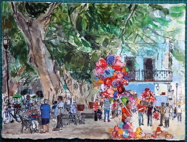 Peter Quinn, Balloons and Bubbles, Oaxaca, Mexico