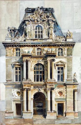 Stuart Robertson, Louvre Pavilion Mollien Paris