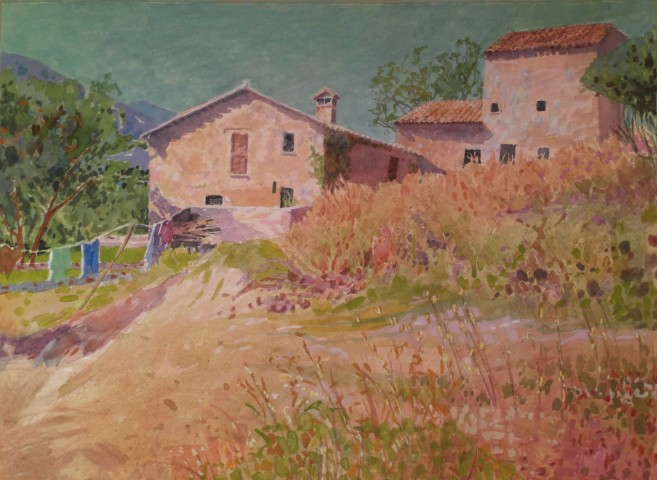 Annie Williams, Holiday in Umbria