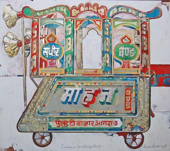 Stuart Robertson, Indian Wedding Cart